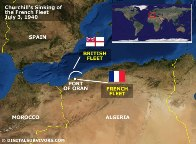Sinking French Fleet